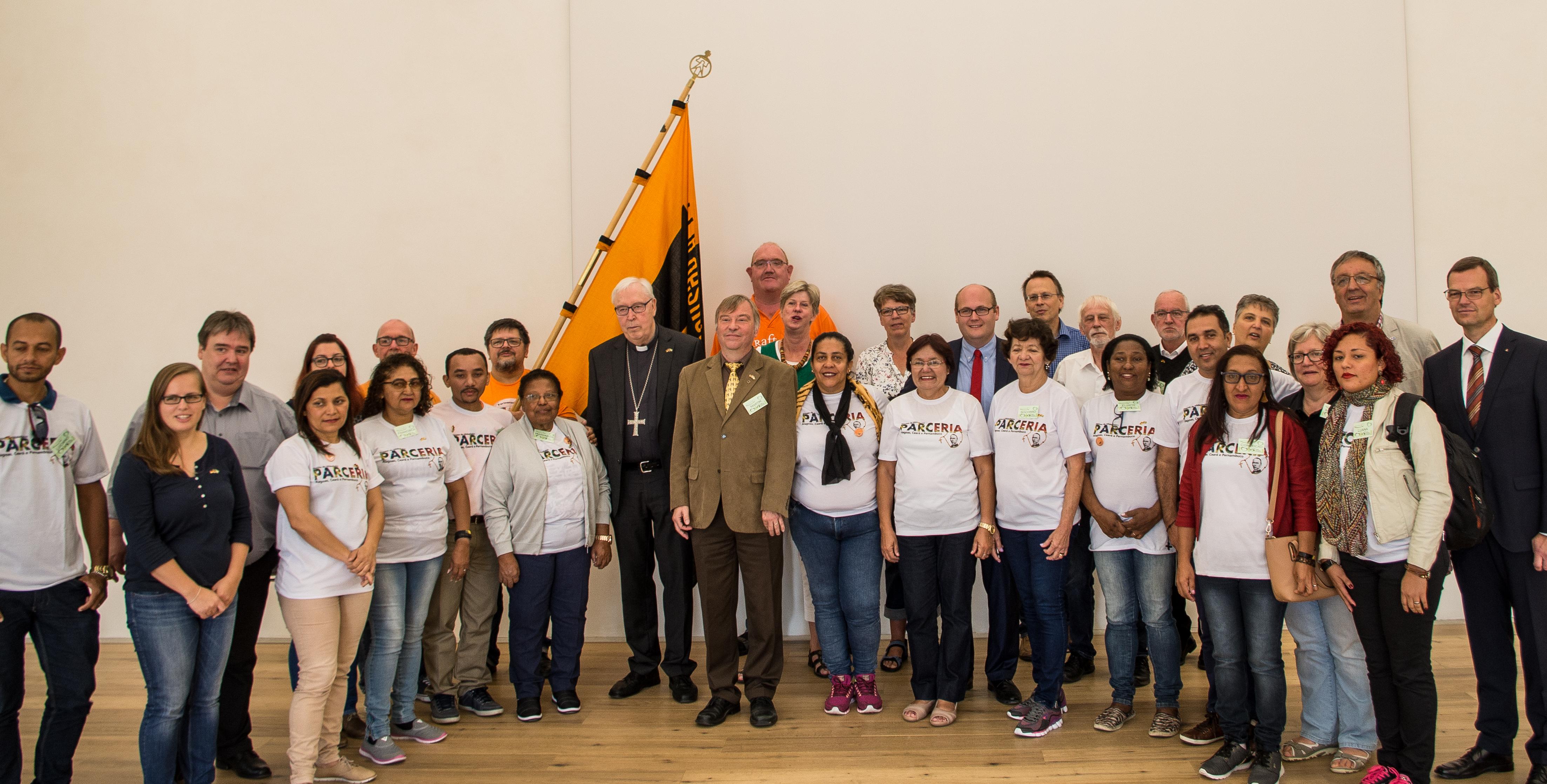 Kolping-Delegation aus Brasilien zu Gast in Deutschland